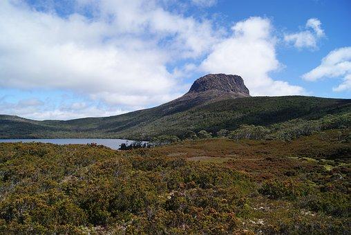 Hiking, Wilderness, Nature, Barn Bluff, Tasmania
