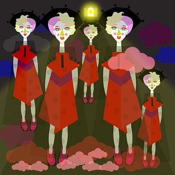 Girls, Twins, Thoughts, Spirituality, Meditation