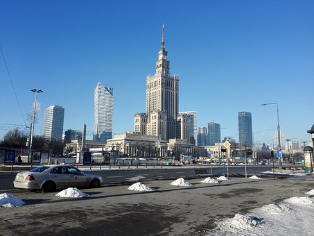 Cialis, Warsaw, Palace Of Culture And Science, Pkin
