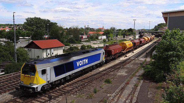 Railway, Locomotive, Voith, Voith Maxima