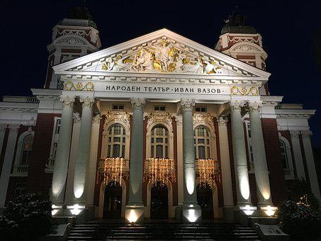 Sofia, Bulgaria, National Theater Ivan Vazov