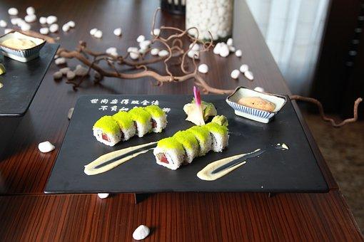 Asian Food, Sushi, Asian, Japanese, Restaurant, Rice