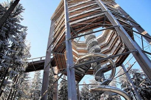 Trail Treetops, Lipno, Czech Republic, Lookout, Tower