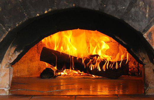 Burning Log, Flame, Fire, Wood, Heat, Light, Bonfire