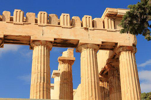 Parthenon, Athens, Acropolis, Greece, Ancient, Greek