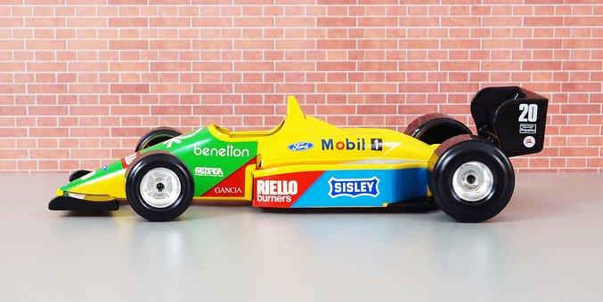 Benetton, Formula 1, Michael Schumacher, Auto, Toys