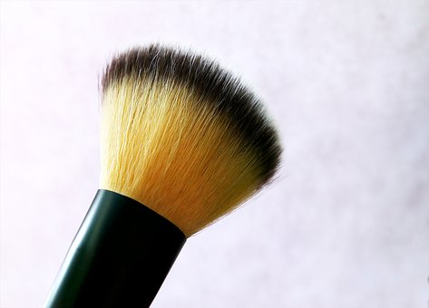 Rouge Brush, Cosmetics, Rouge, Brush, Cheeks, Powder
