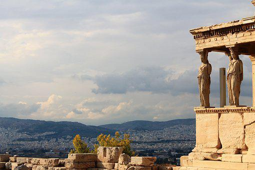 Acropolis, Greece, Ancient, Athens, Greek, Europe