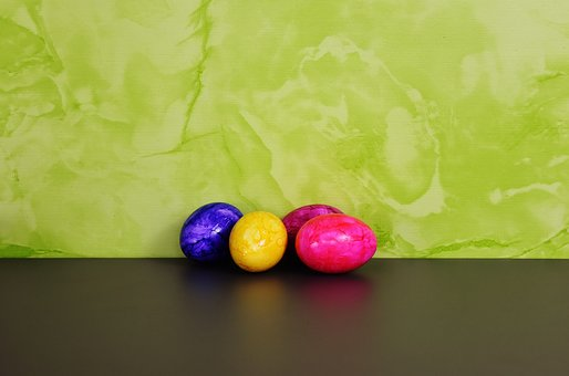 Colorful Eggs, Easter Eggs, Happy Easter, Colored, Egg