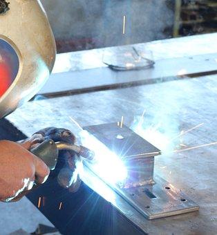 Metal, Work, Tool, Craftsmen, Craft, Industry, Weld