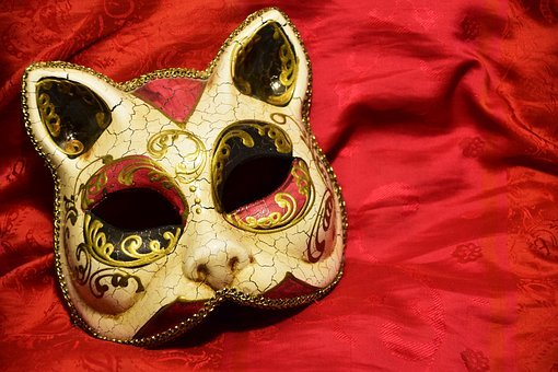Mask, Cat, Carnival, Color, Cat Mask, Larva, Cats Larva