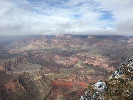 Vista, Grand Canyon, Scenic, Landscape, National, Park
