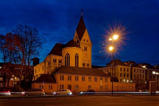 Lyskirche, Cologne, Rhine River, Romanesque Church