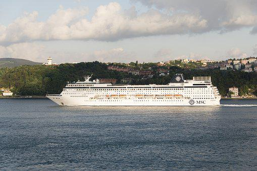 Cruise, Ship, Sea, Bosphorus, Istanbul, Cruise Ship