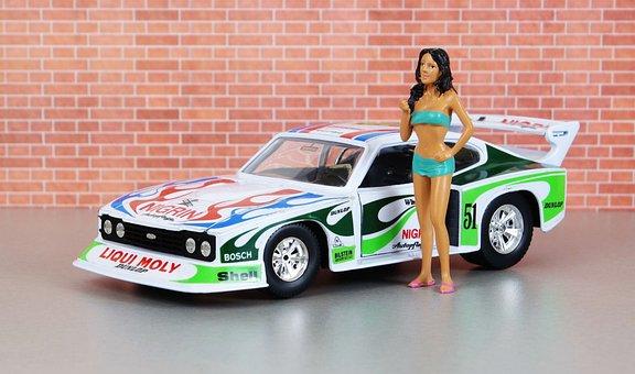 Model Car, Ford, Capri, Zakspeed Motorsport, Model