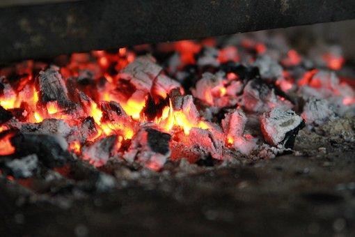 Coals, Fire, Koster, Firewood, Burns, Campfire, Burn