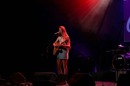 Singer, Entertain, Guitar, Country, Entertainment