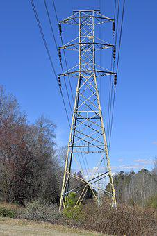 Pylon, Electricity, Power, Energy, Electric, Industry