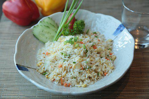 Fried Rice, Exotic, Food, Philippines, Meat, Chopped