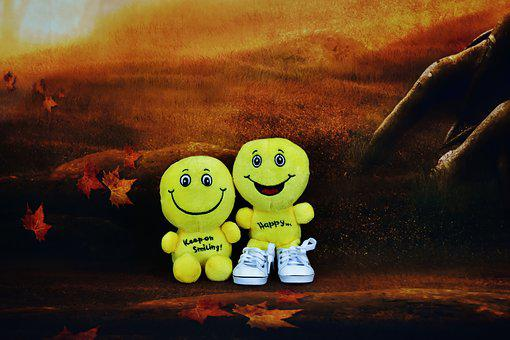 Smilies, Funny, Yellow, Happy, Cheerful, Emoticon
