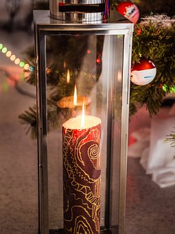 New Year's Eve, Candle, Holiday, Gift