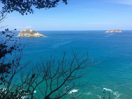 Ocean, Landscape, Nature, Sky, Blue, Water, Horizon