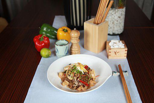 Filipino Cuisine, Noodles, Stirfry, Asian, Food