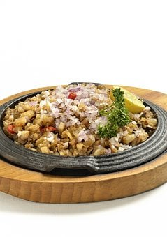 Sisig, Pork, Exotic, Food, Philippines, Meat, Chopped