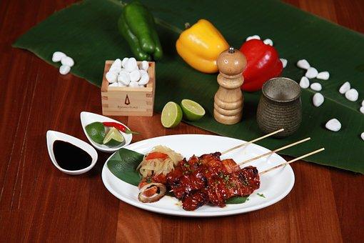 Pork Barbecue, Pork, Skewer, Poultry, Restaurant, Sour