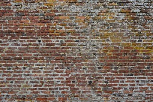 Bricks, Wall, Rust, Brick Wall, Brick Wall Background