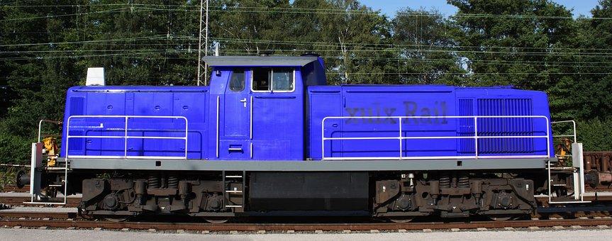 Locomotive, Traction-unit, Shunter, Baureihe 294