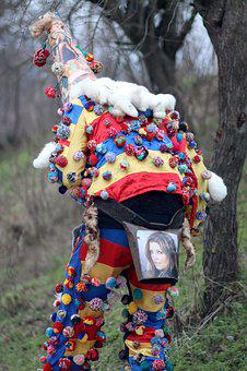 Weathercock, Suit, Tradition, Romania, Carol, Winter