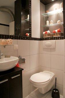 Bathroom, Wc, Toilet, Apartment, Room, House