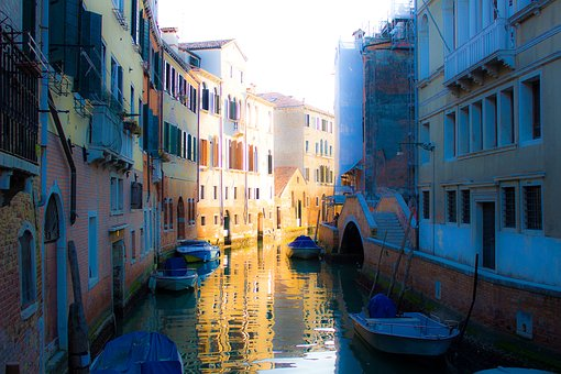 Italy, Venice, Channel, Architecture, River, Old Town