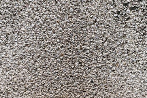 Wallpaper, Background, Wall, Rhinestones, Mosaic, Gray