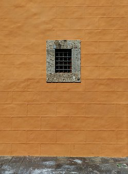 Window, Grating, Facade, Wall, Opening, Cloister