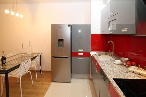 Kitchen, Kitchenette, Apartment, Room, House