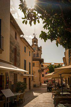 Alcudia, Majorca, Holiday, City, Old Town, Architecture