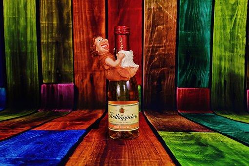 Figure, Woman, Bottle, Funny, My Bottle, Fun
