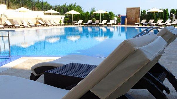 Pool, Bulgaria, Recliner