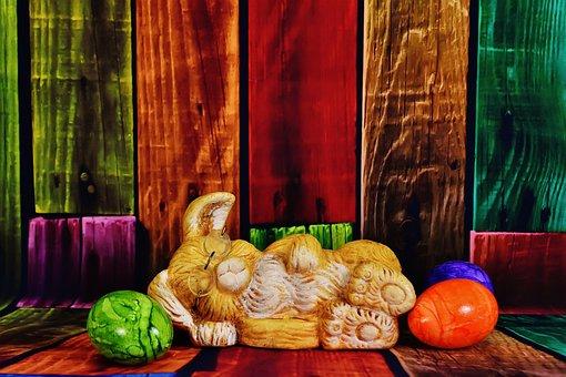 Easter Bunny, Glasses, Sleep, Easter, Happy Easter, Egg
