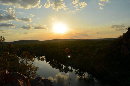 Sunset, Gorge, Northern Territory, Australia, Landscape