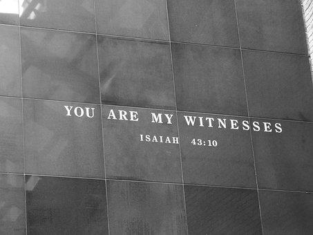 Washington Dc, Holocaust Museum, Bible Verse