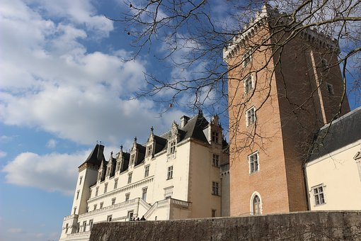 Castle, Pau, France, King Of France, Béarn