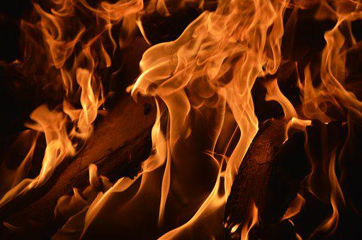 Fire, Burn, Campfire, Wood Fire, Flame, Night