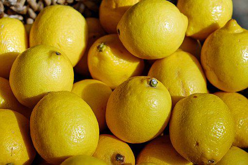 Lemons, Yellow, Fruit, Tart, Refreshment, Citrus Fruits