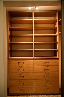 Wardrobe, Room, Apartment, House, Residential Interior
