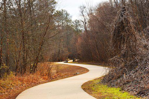 Ropemill Park, Walking Trail, Woodstock