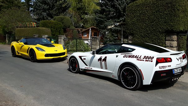 Corvette, C7, Z06, Tuning, Sports Car, American, V8