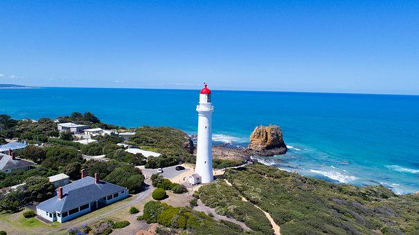Lighthouse, Airysinlet, Victoria, Australia, Coastal